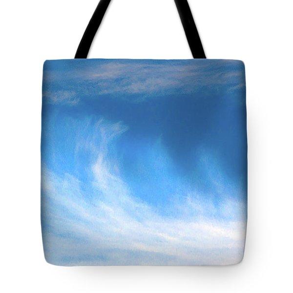 Colours. Blue Tote Bag