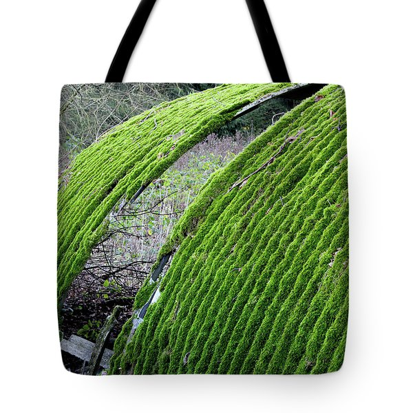 Colours. Green Tote Bag