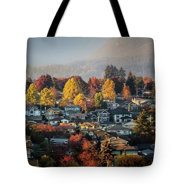 Colours Of Autumn Tote Bag