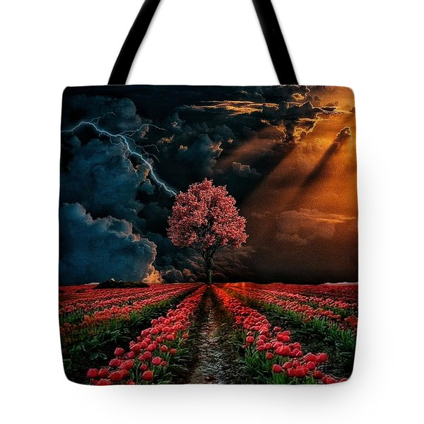 Colours Of The Sky Tote Bag