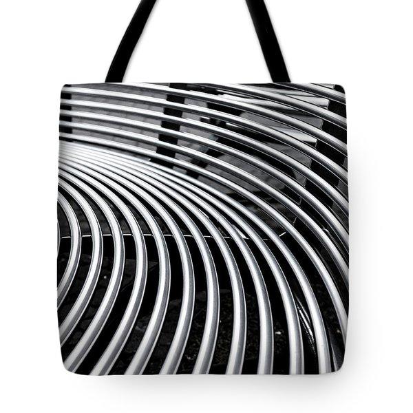 Colours. Silver Tote Bag