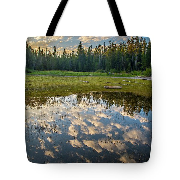Colter Bay Reflections Tote Bag