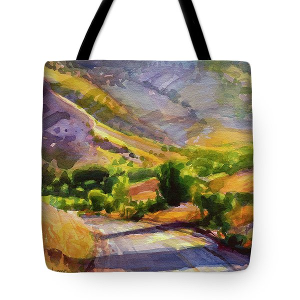 Columbia County Backroads Tote Bag