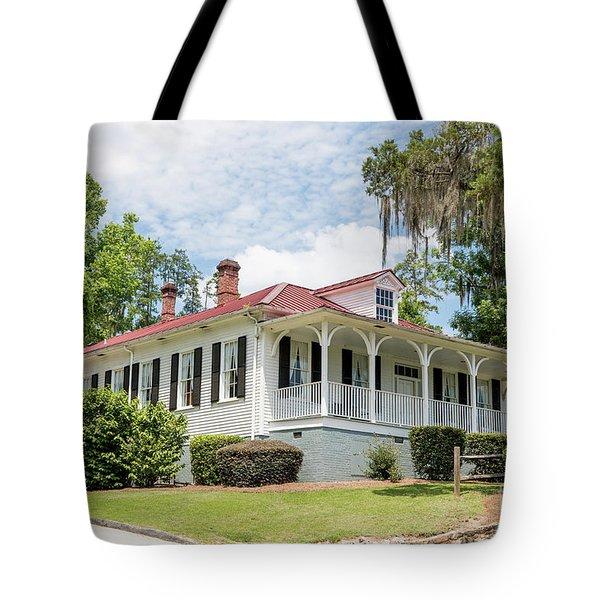 Columbia County Visitors Center - Savannah Rapids Tote Bag