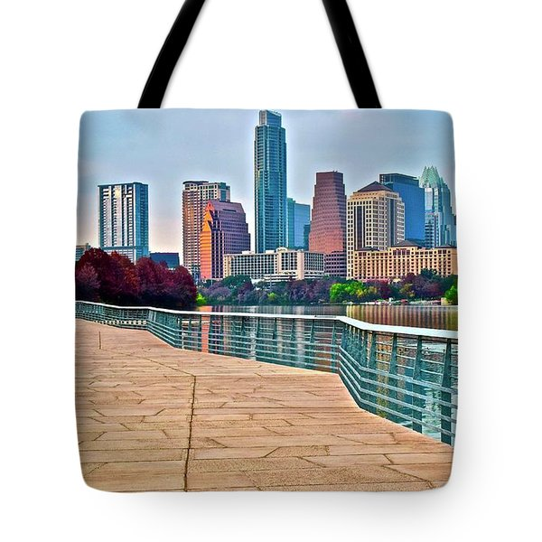 Come To Austin Texas Tote Bag