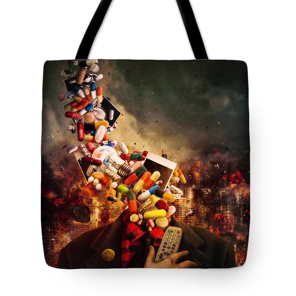 Comfortably Numb Tote Bag