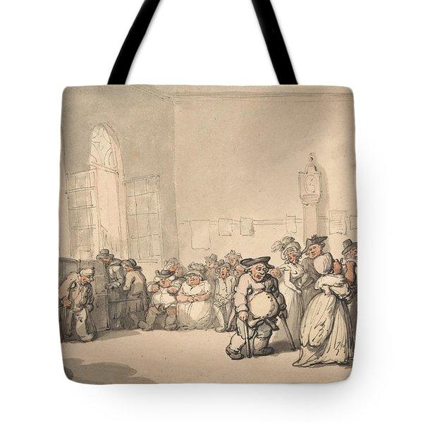 Comforts Of Bath - The Pump Room Tote Bag