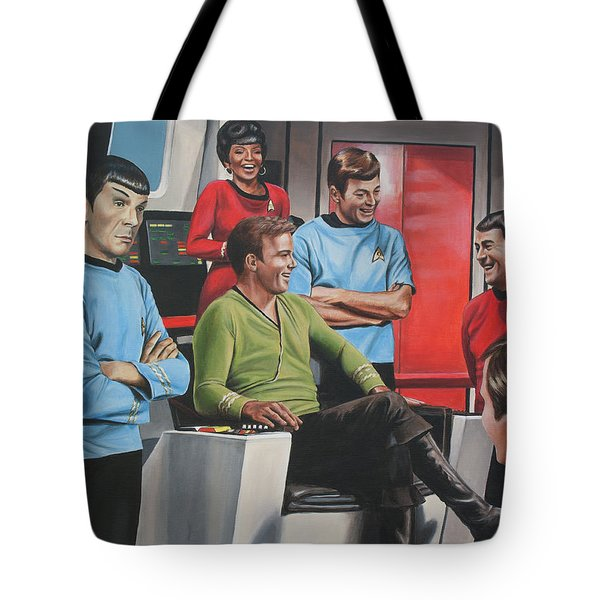 Comic Relief Tote Bag