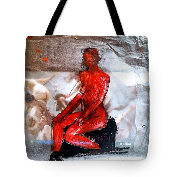 Coming From The Treaure  Tote Bag