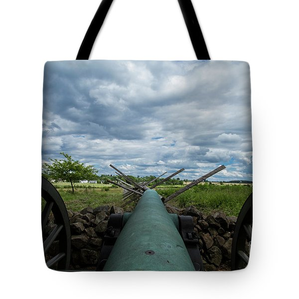 Tote Bag featuring the photograph Confederate Canon by Photography by Laura Lee