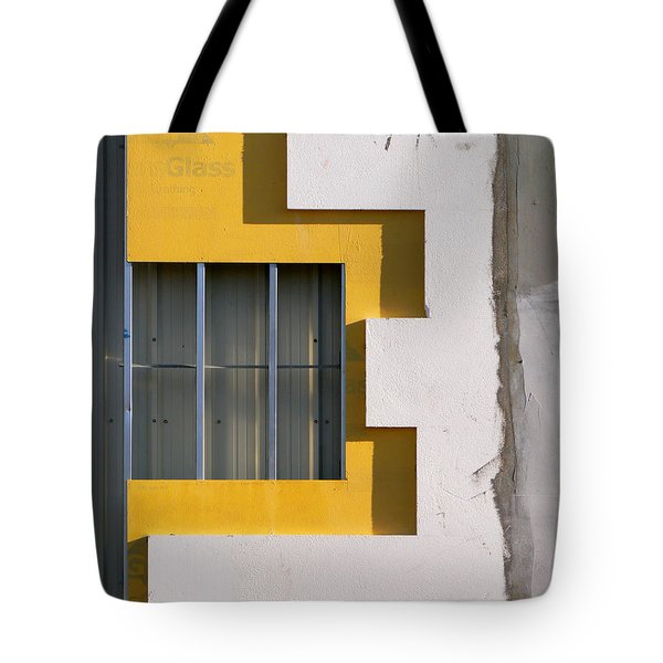 Construction Abstract Tote Bag