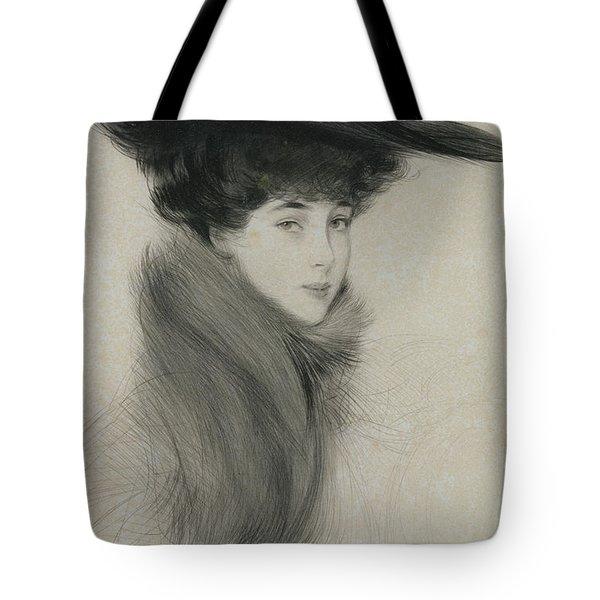 Consuelo Vanderbilt Tote Bag