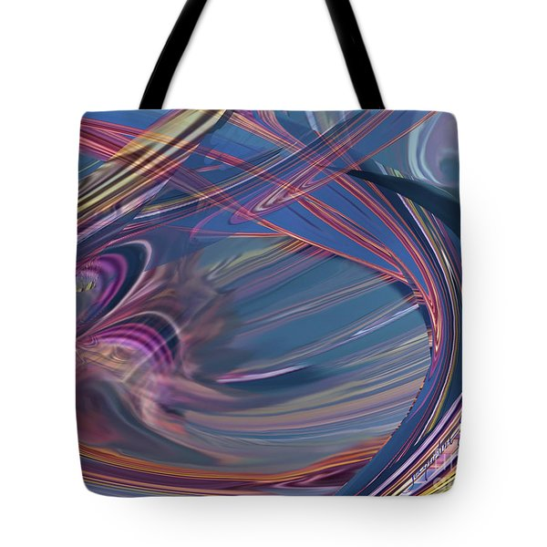 Contrail Party Tote Bag
