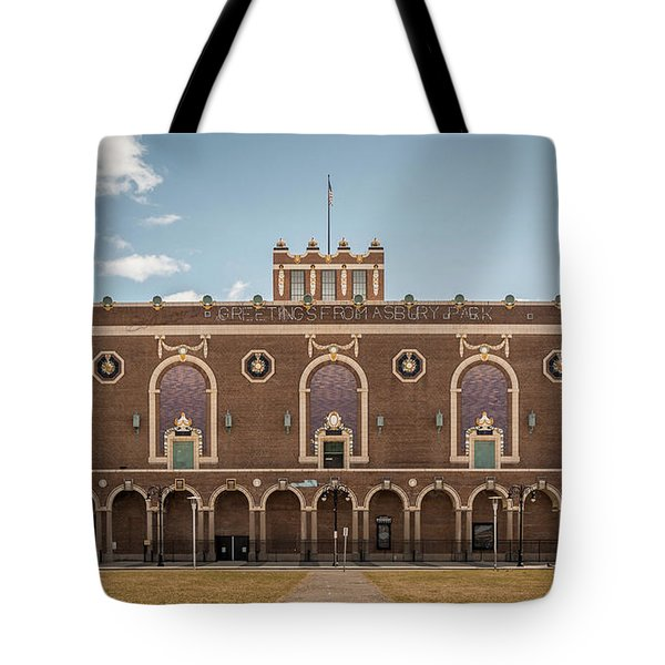 Convention Hall Tote Bag