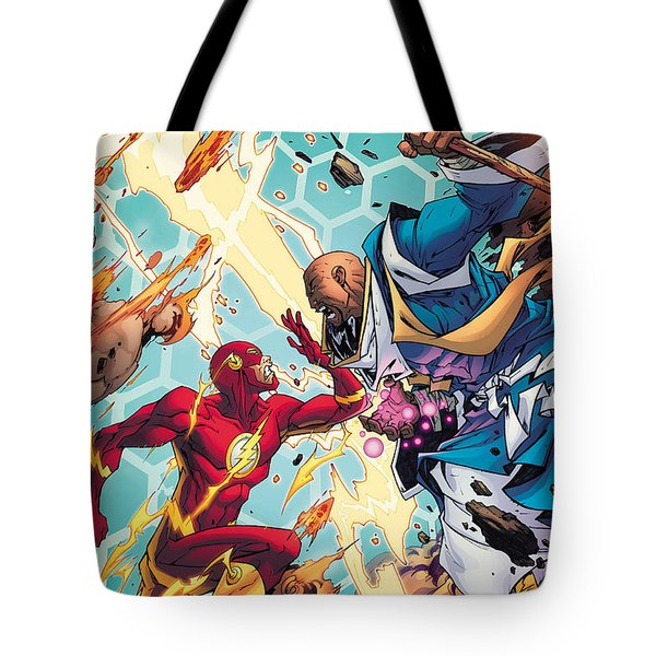 Convergence Flash Tote Bag