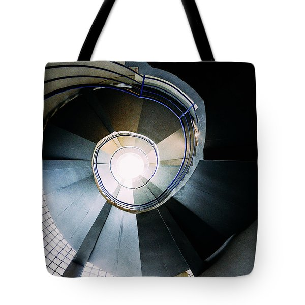 Convoluted Staircase  Tote Bag