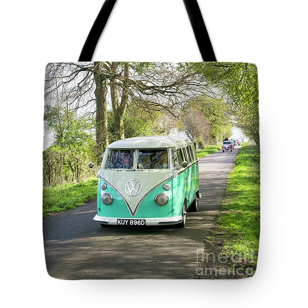 Convoy In The Countryside Tote Bag