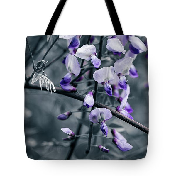 Cool Blue Of Spring Tote Bag