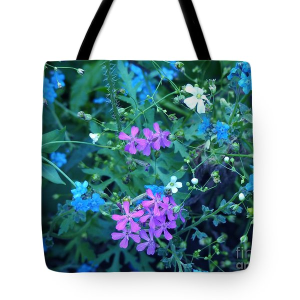Tote Bag featuring the photograph Cool Bouquet by Rosanne Licciardi