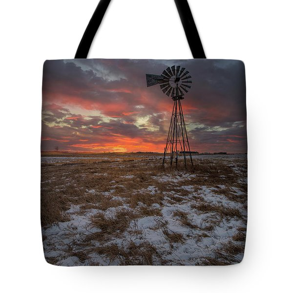 Tote Bag featuring the photograph Cool Breeze  by Aaron J Groen
