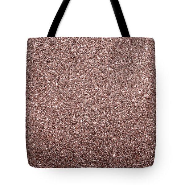 Cooper Glitter Tote Bag