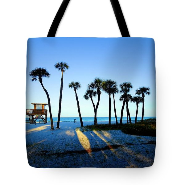 Coquina Palms Tote Bag