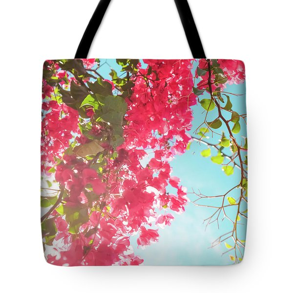 Tote Bag featuring the photograph Coral Bloom V by Anne Leven