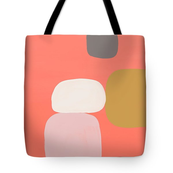 Coral Stones 1- Art By Linda Woods Tote Bag