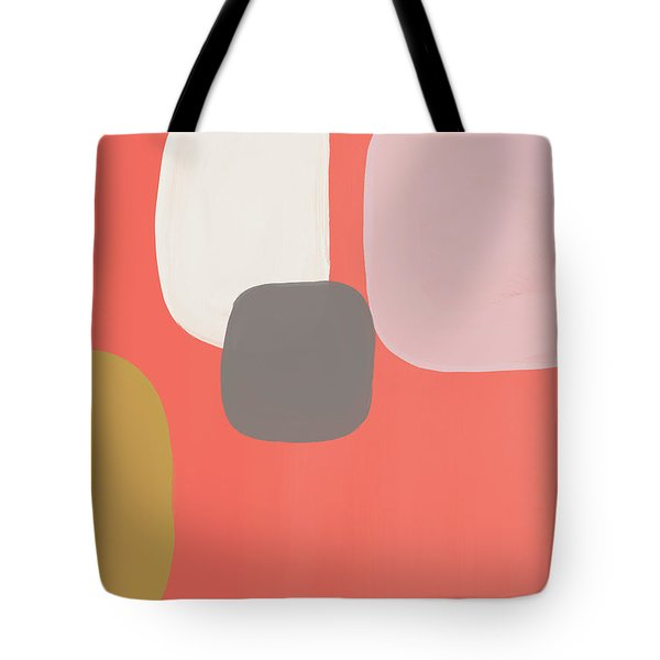 Coral Stones 2- Art By Linda Woods Tote Bag