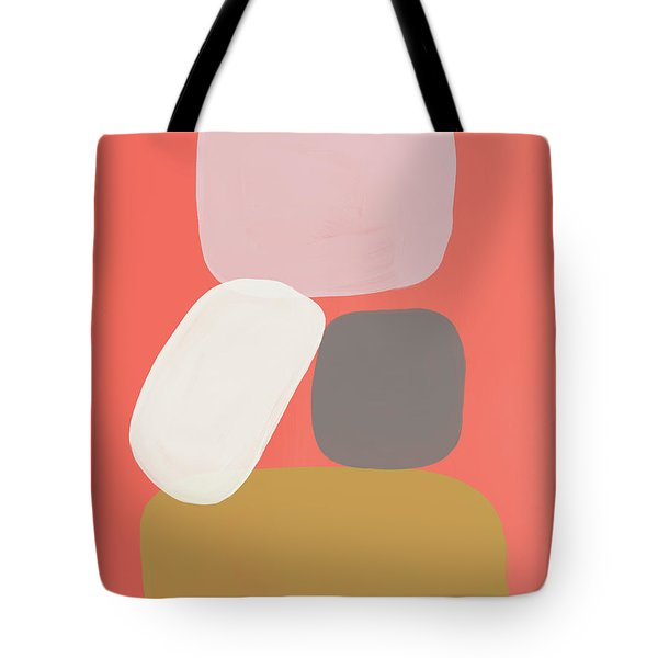 Coral Stones 3- Art By Linda Woods Tote Bag