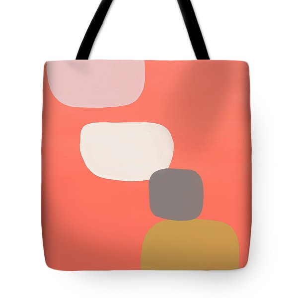 Coral Stones 4- Art By Linda Woods Tote Bag
