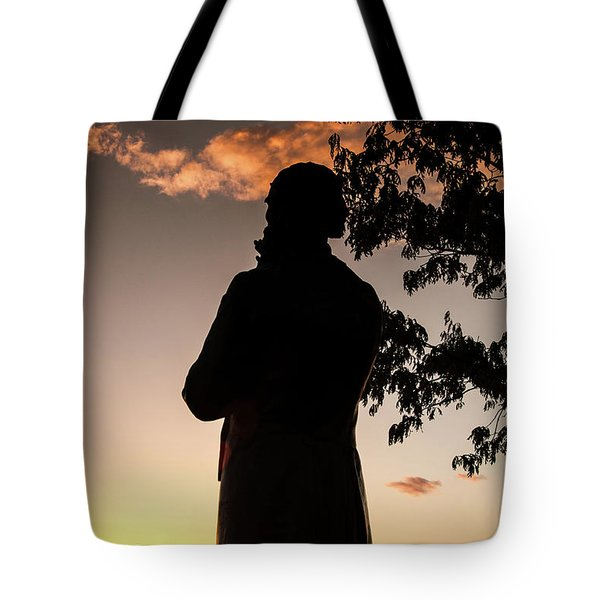 Corby At Sunset Tote Bag
