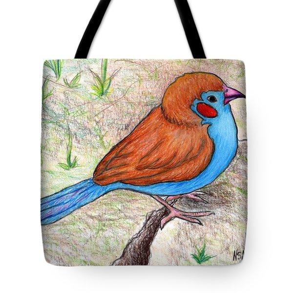 Cordon Bleu Finch Tote Bag