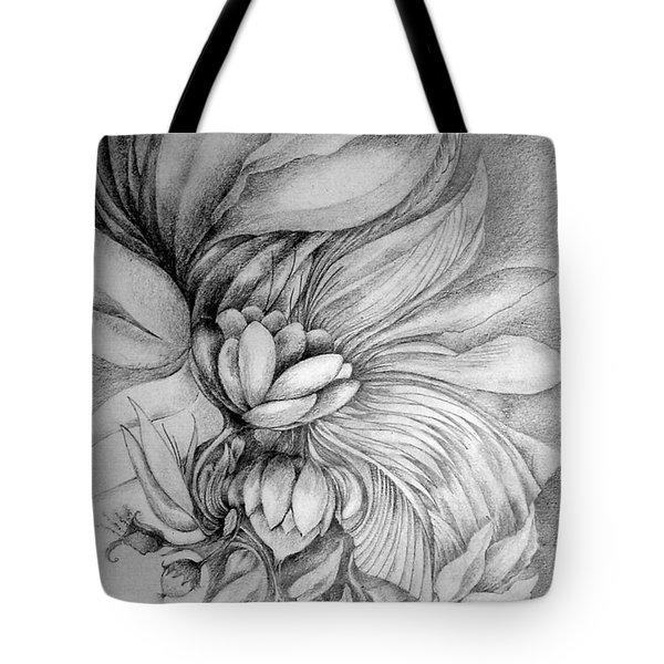 Tote Bag featuring the drawing Cornucopia by Rosanne Licciardi