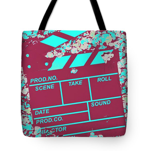 Corny Production Tote Bag