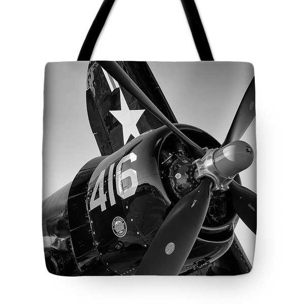 Corsair Under The Setting Sun Tote Bag