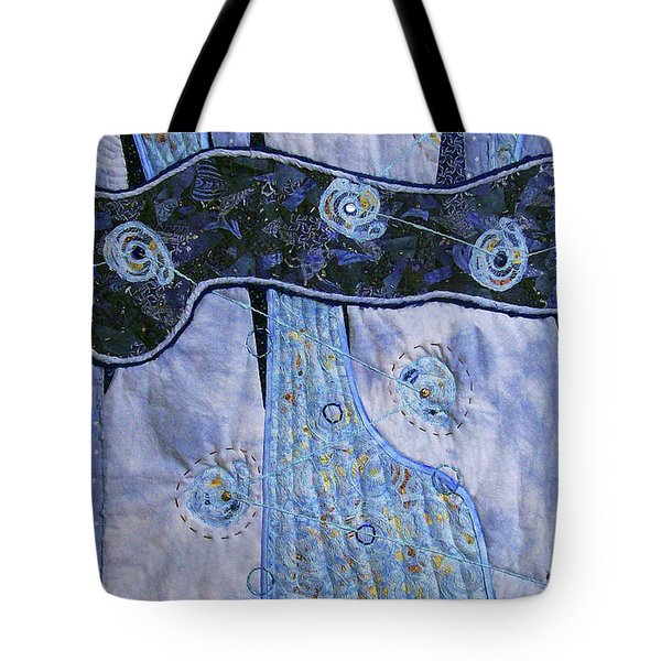 Cosmic Connectivity Tote Bag