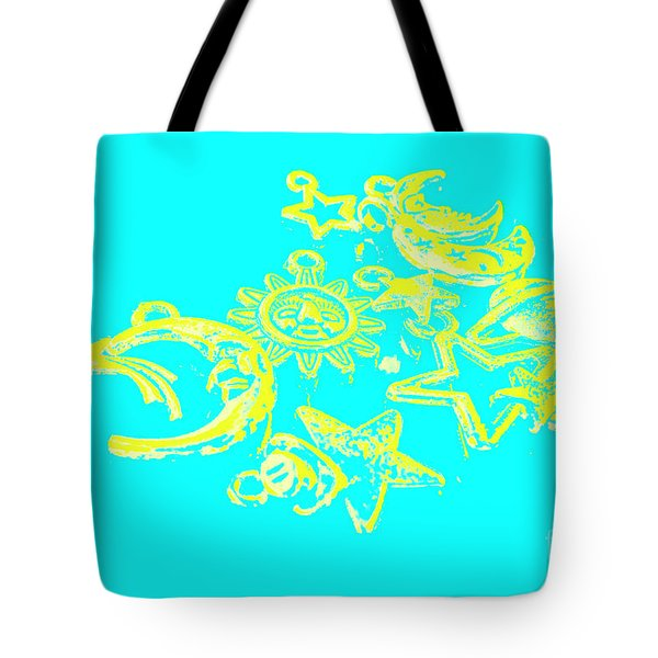 Cosmos Caricatures Tote Bag