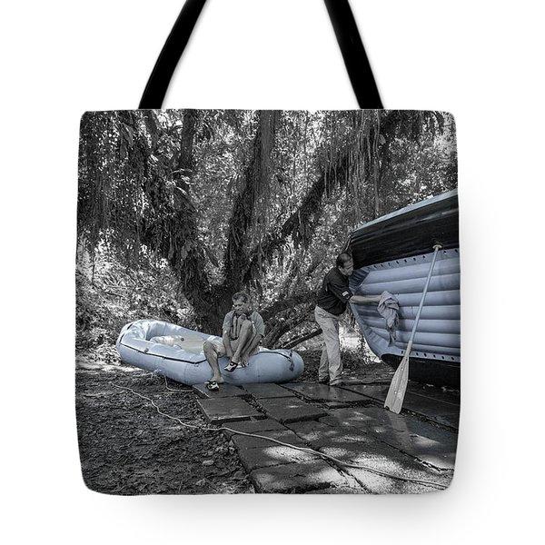 Costa Rica  Water Rafting Tote Bag