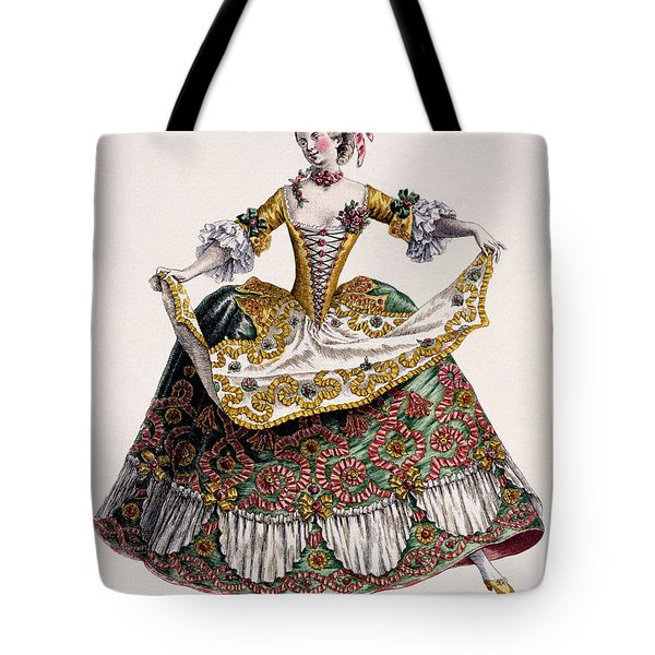 Costume Of A Gentle Peasant Woman, Late 18th Century  Tote Bag