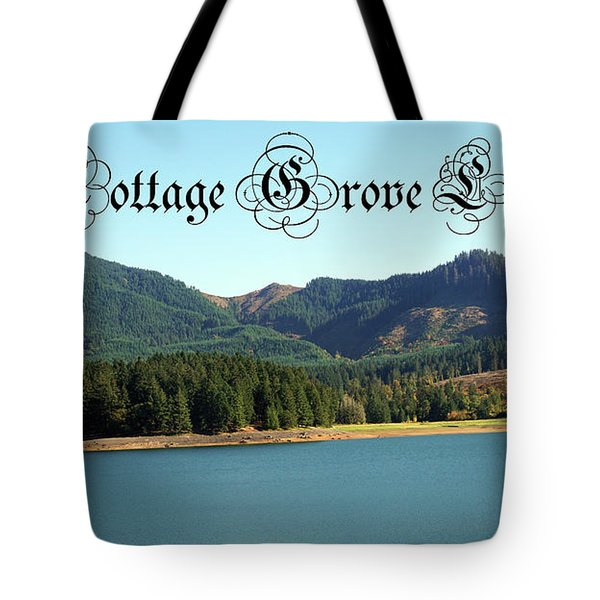 Tote Bag featuring the photograph Cottage Grove Lake by Ben Upham III