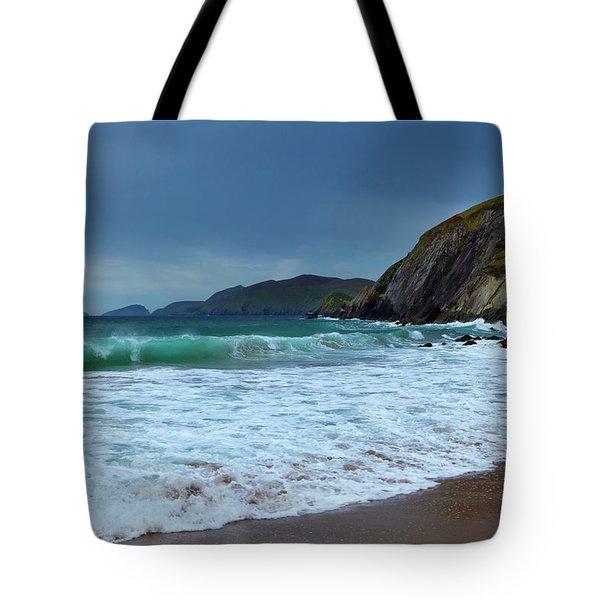 Coumeenoole Beach At Slea Head, Dingle Tote Bag