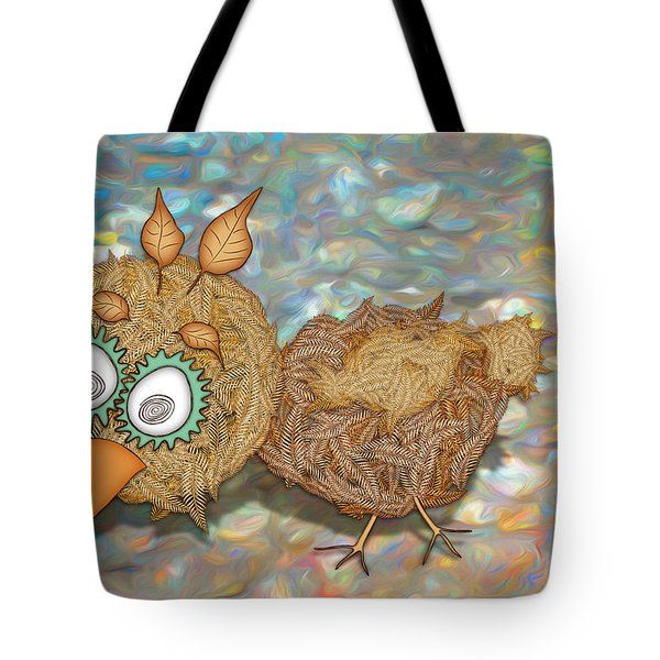 Count Your Chicken Tote Bag
