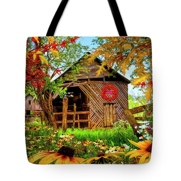Country Colors Tote Bag