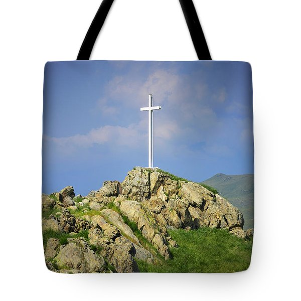 Countryside Cross Tote Bag