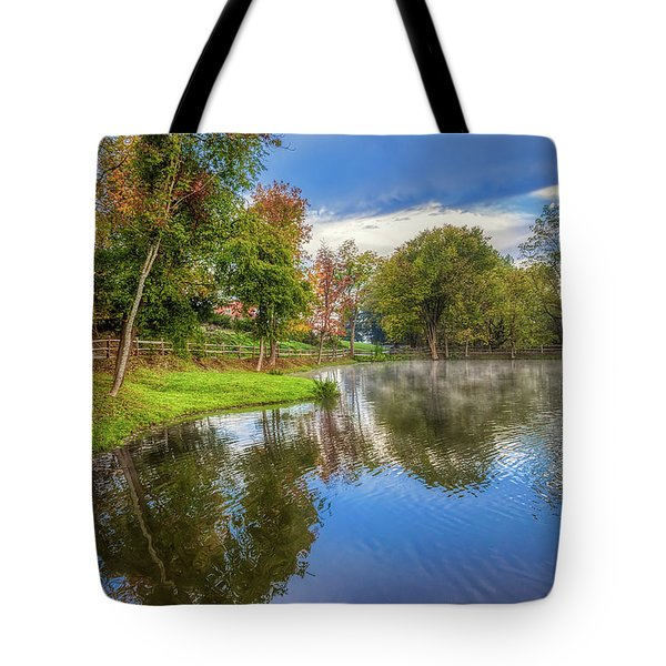 Countryside Drive Tote Bag