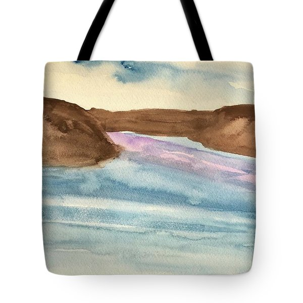 County Lake Tote Bag