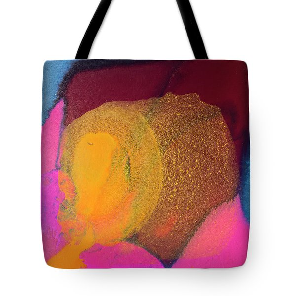 Couple In A Car Chase Tote Bag