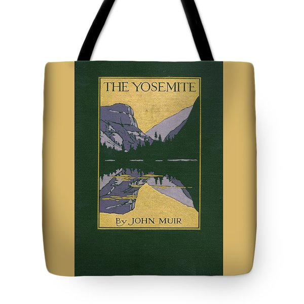 Cover Design For The Yosemite Tote Bag