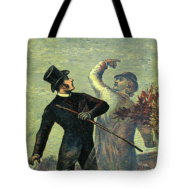 Victorian Yellowback Cover For Weird Stories Tote Bag